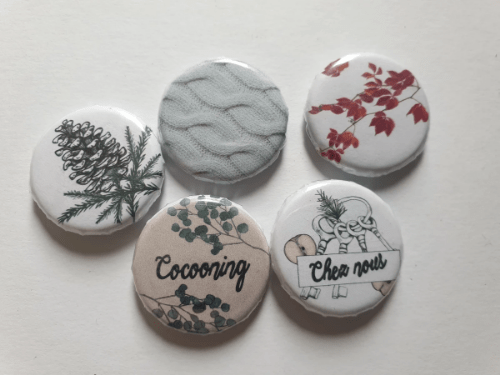 Badges margaux creation scrapbooking - boutique en ligne - Planner- papeterie