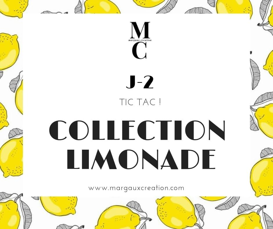 Collection limonade- margauxcreation - margaux c reation - papeterie- scrapbooking