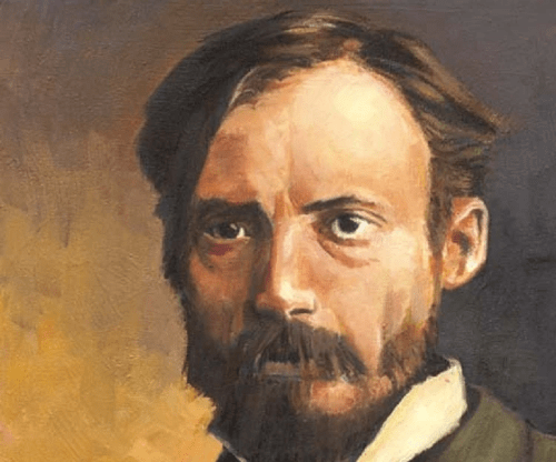 皮耶‧奧古斯特‧雷諾瓦(Pierre-Auguste Renoir, 1841-1919)Self-Portrait