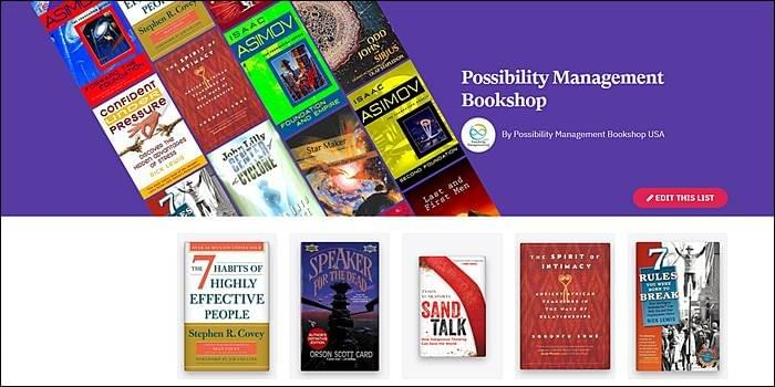 Possibility Management Online Bookshop, Transformation, Adulthood, StartOver.xyz, Possibility Management