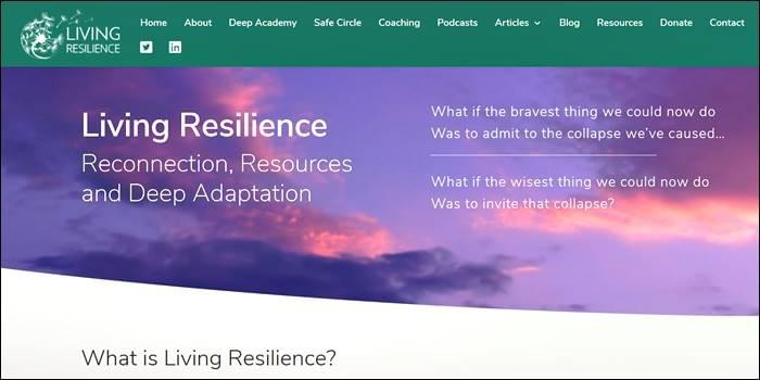 Living Resilience, Deep Academy, Safe Circle, Podcasts, StartOver.xyz, Possibility Management