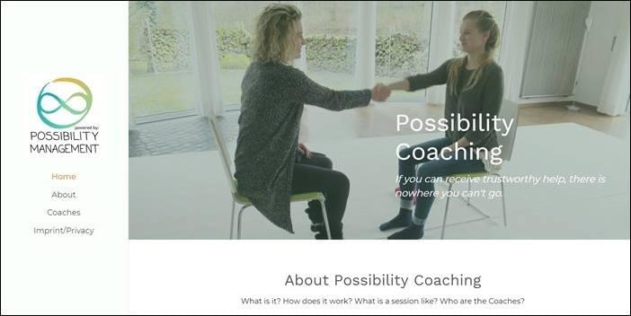 Possibility Managers, Possibility Coaching, StartOver.xyz, Possibility Management