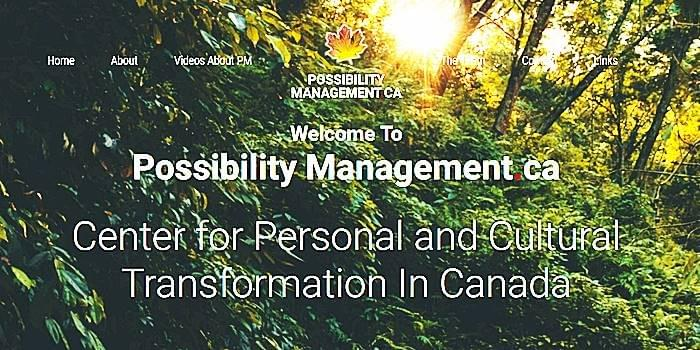 Possibility Managers, StartOver.xyz, Possibility Management in Canada