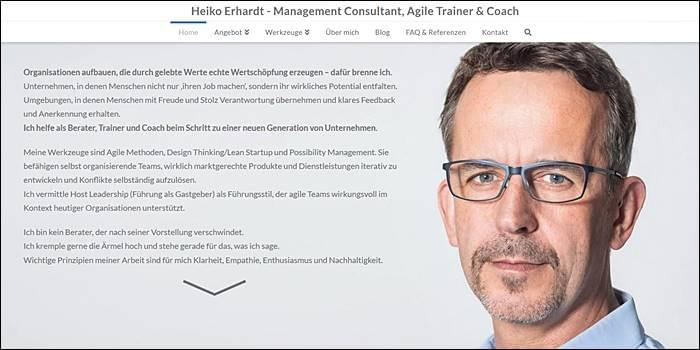 Heiko Erhardt, Management Consultant, Agile Trainer & Coach, Possibility Management
