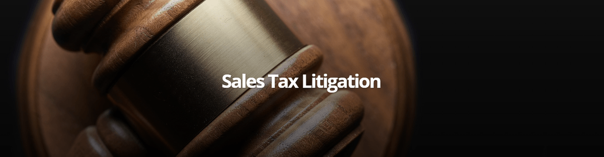 California sales tax litigation