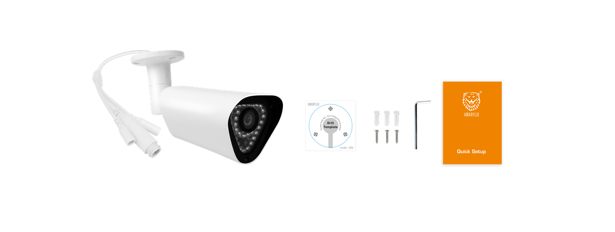 AR4, biometric security camera outdoor