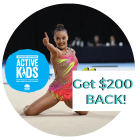 Rhythmic Gymnastics NSW Active Kids Voucher