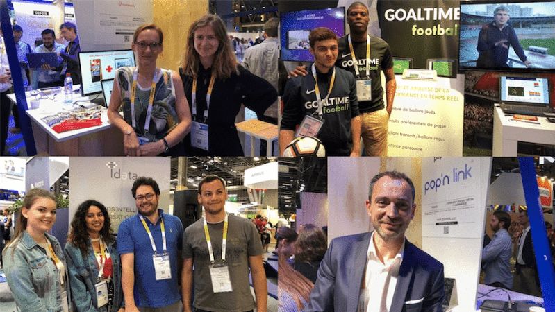 Vivatech, le village by ca paris, le village by ca, salon tech, startups village, ideta, goaltime, pop'n link