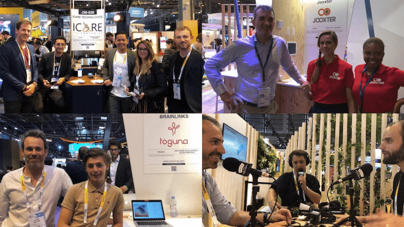 Vivatech, le village by ca paris, le village by ca, salon tech, startups village, jooxter, radio village innovation, brainlinks, icare