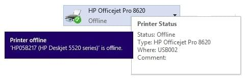 HP Printer Showing on Windows 10 Fix