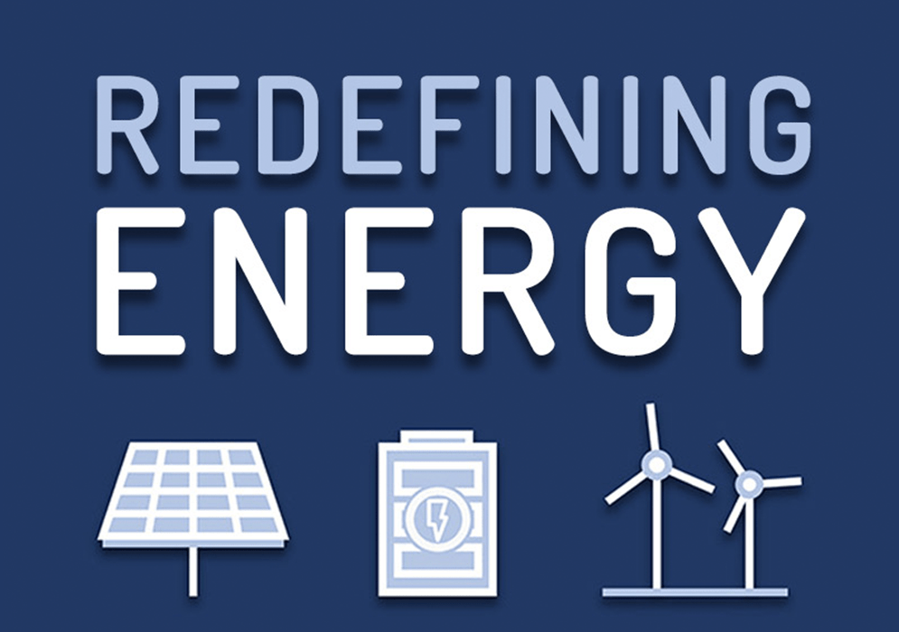 Redefining Energy Podcast Landing Page