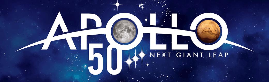 Apollo S 50th Anniversary New Nasa Logo