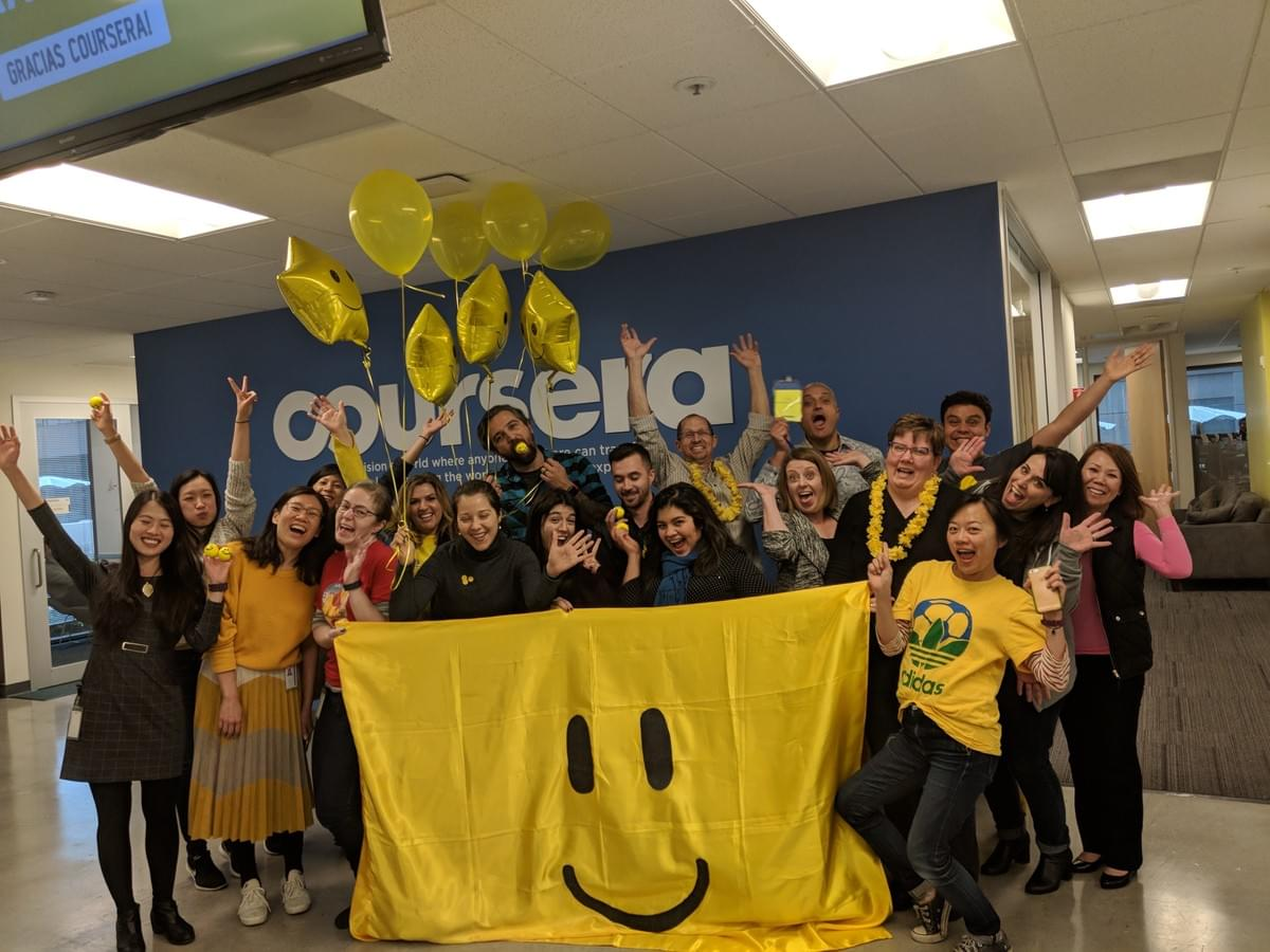 International Day of Happiness, Coursera, March 20, 2018