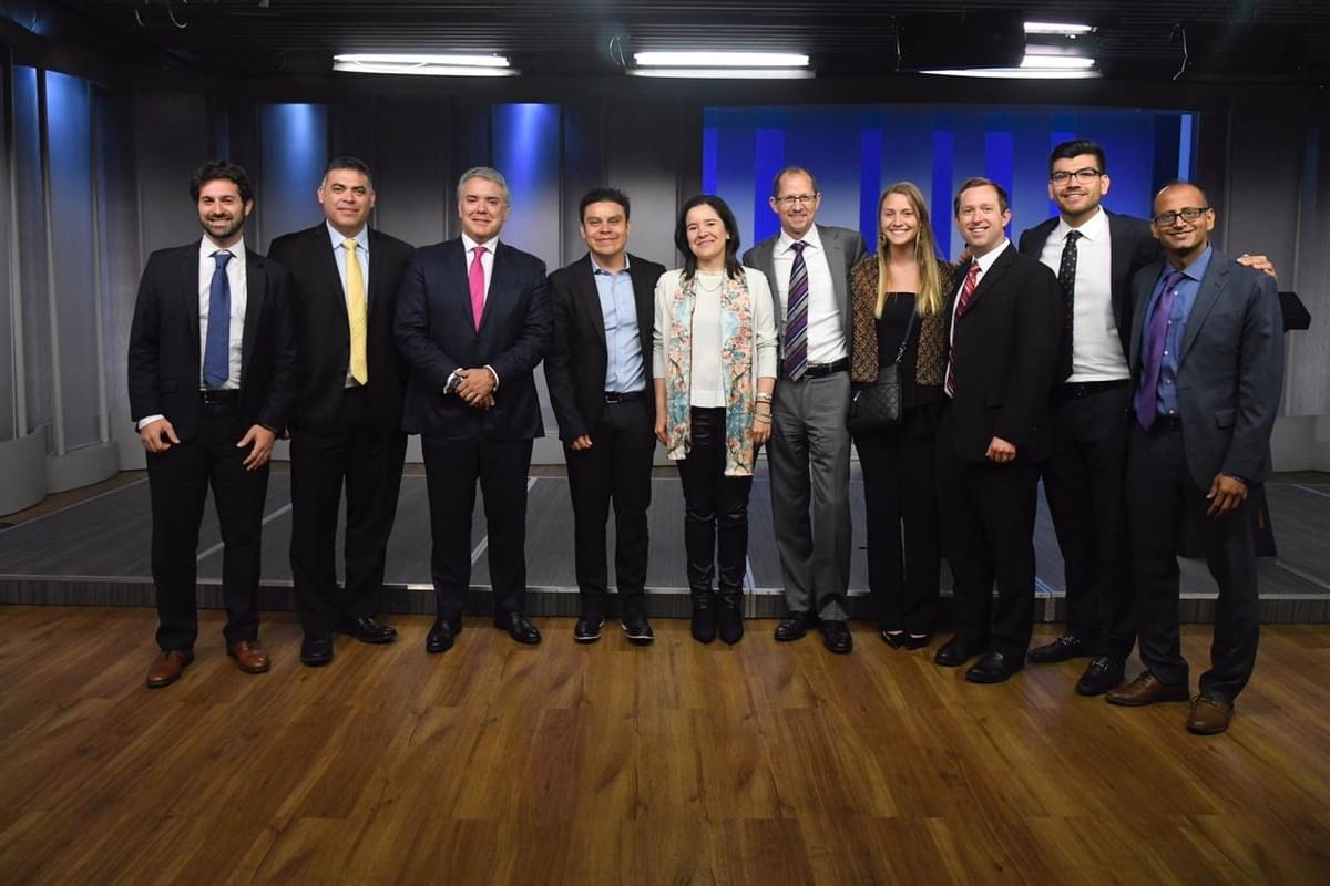 Meeting with President of Colombia, Ivan Duque, September 2019