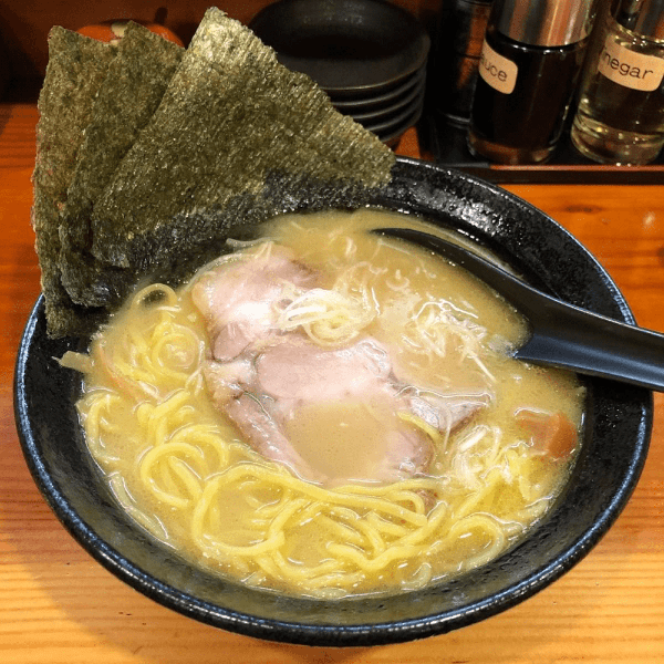 tasty ramen is close by to echoland accommodation options at Hakuba White Fox Chalets