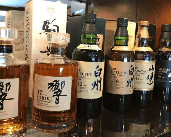 sample japanese whiskey in Echoland Hakuba