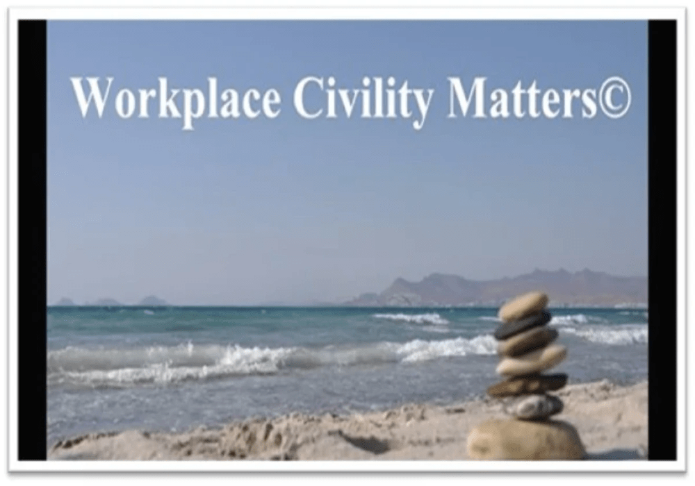 Dr. Tina Talks Work - Workplace Civility Matters, Soft skills Development