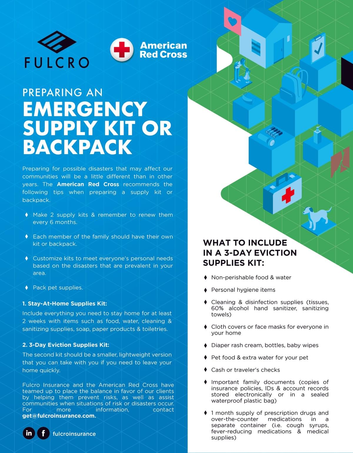 Tips on Preparing an Emergency Supply Kit or Backpack