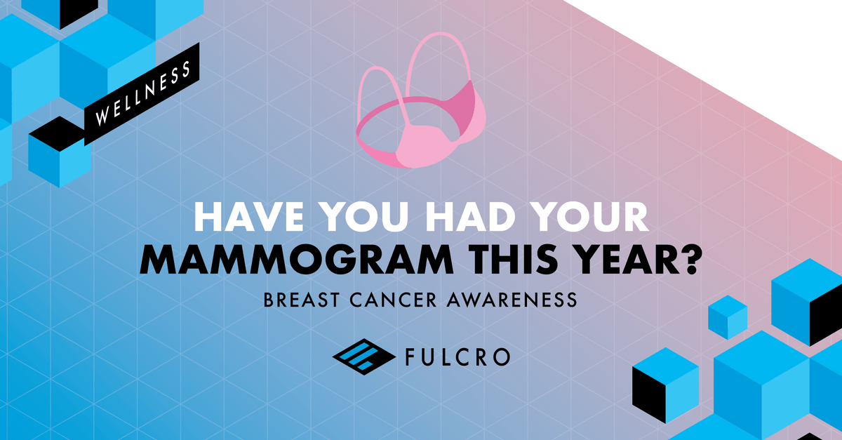 Have you had your mammogram this year? Breast Cancer Awareness