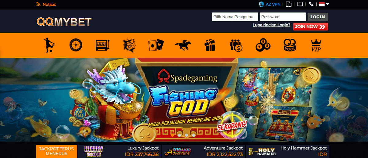 Qqmybet Situs Judi Online Slot Game Terpercaya