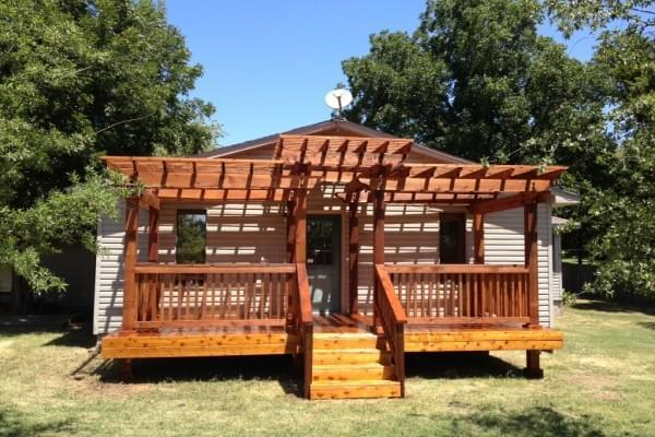 Deck Builders in Tulsa Oklahoma I Custom Wood Deck and Pergola Company I Oklahoma Outdoor Living