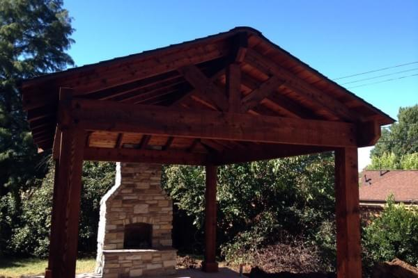 Pavilion Builders in Tulsa Oklahoma I Custom Wood Pavilion Company I Oklahoma Outdoor Living