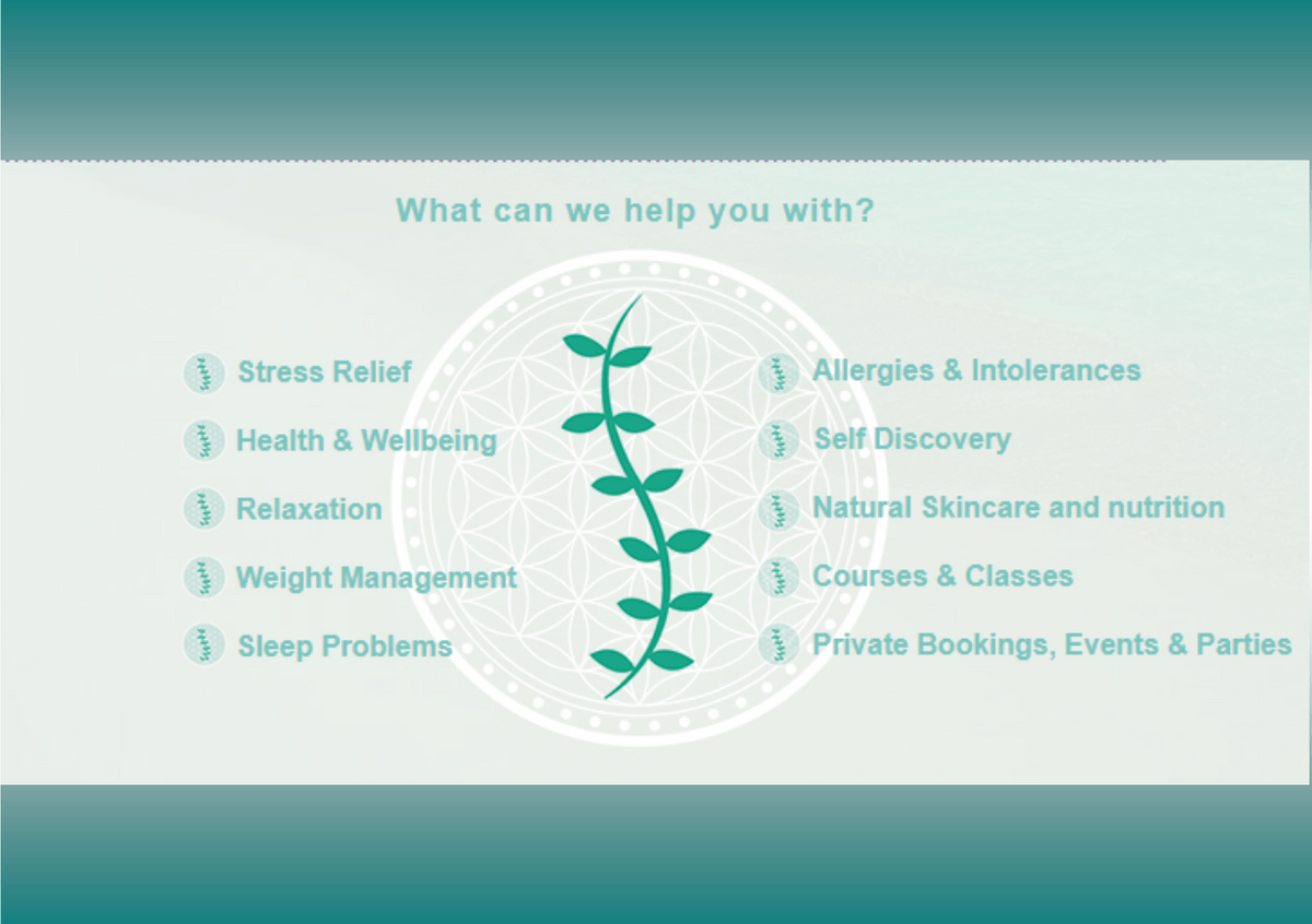 Click here to see what therapies are on offer