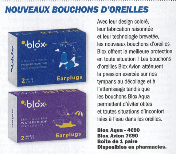 blox protection auditive presse