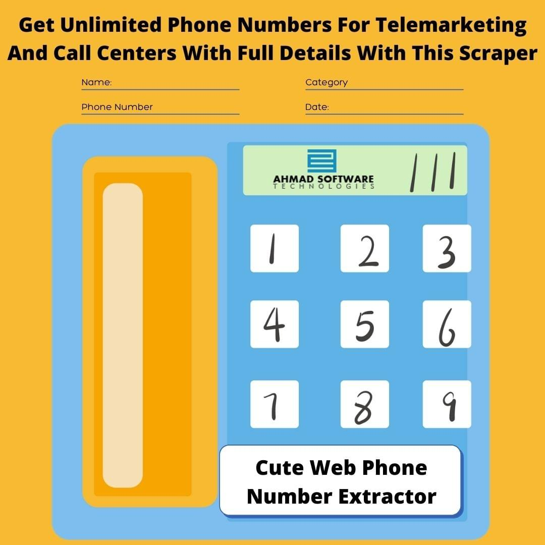 Get Potential Clients Phone Numbers To Dial For A Call Center
