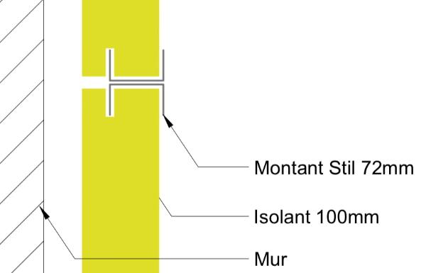 Méthode pour un doublage demi stil sur ossature parfait