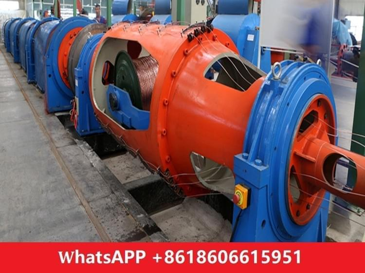 Tubular Stranding Machine PN710/8B Large Bearing Drive Separate Motor