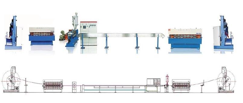 Ningbo Capstaner Technology Co.,Ltd. POWER CABLE EXTRUSION LINE