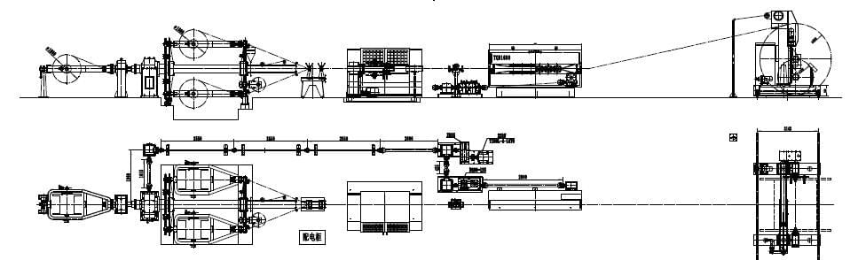 Beyde trading co.,ltd laying up machine layout drawing