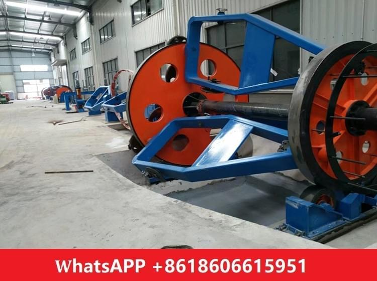 cradle cable laying up machine 1250/1+1+3 bobbin