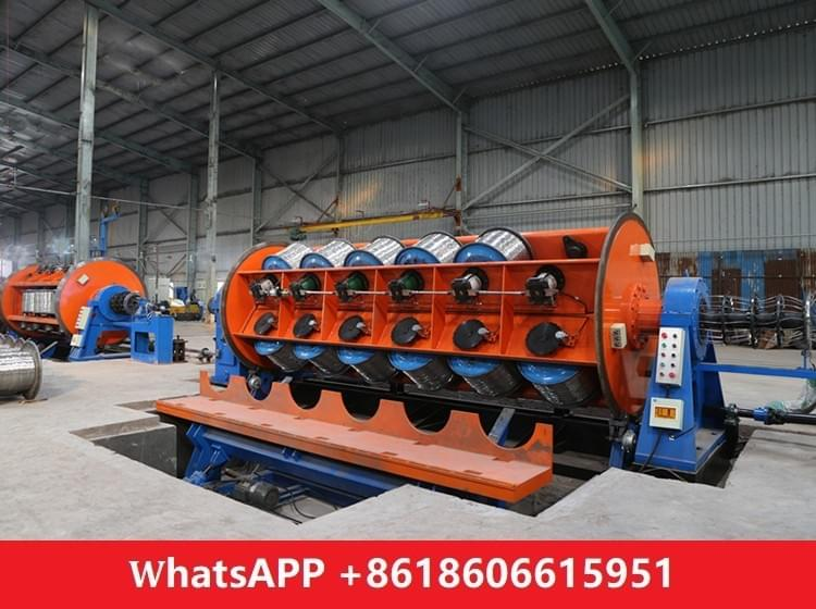 500/6+12+18 rigid frame stranding machine side bottom load system