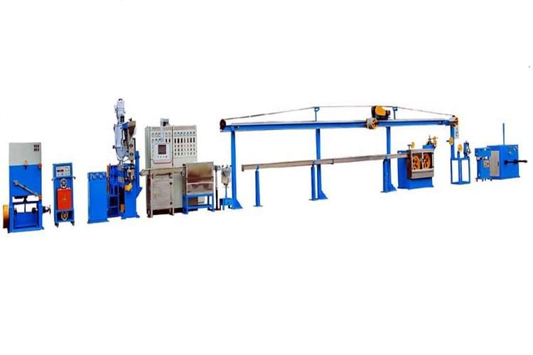 70/25 Cable extrusion line for Inner Polyethylene sheath, 2.6mm Thickness from carsing technology