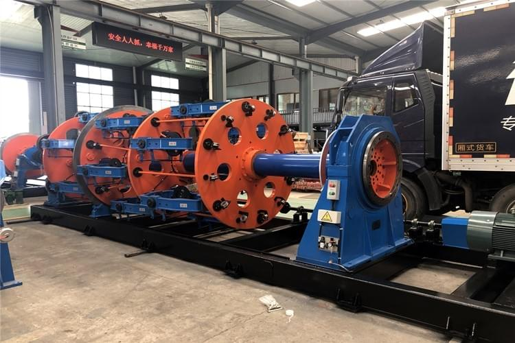 steel wire rope planetary stranding machine