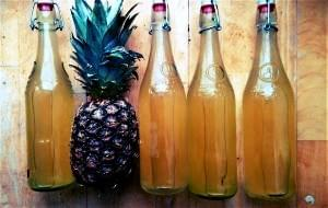 Zero waste cooking, sustainable living, Pineapple