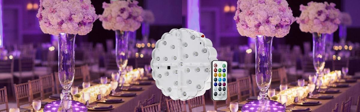 JEJA LED light base for centerpieces
