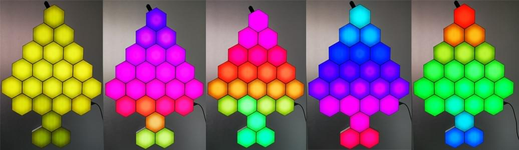 Programmed LED lights from China
