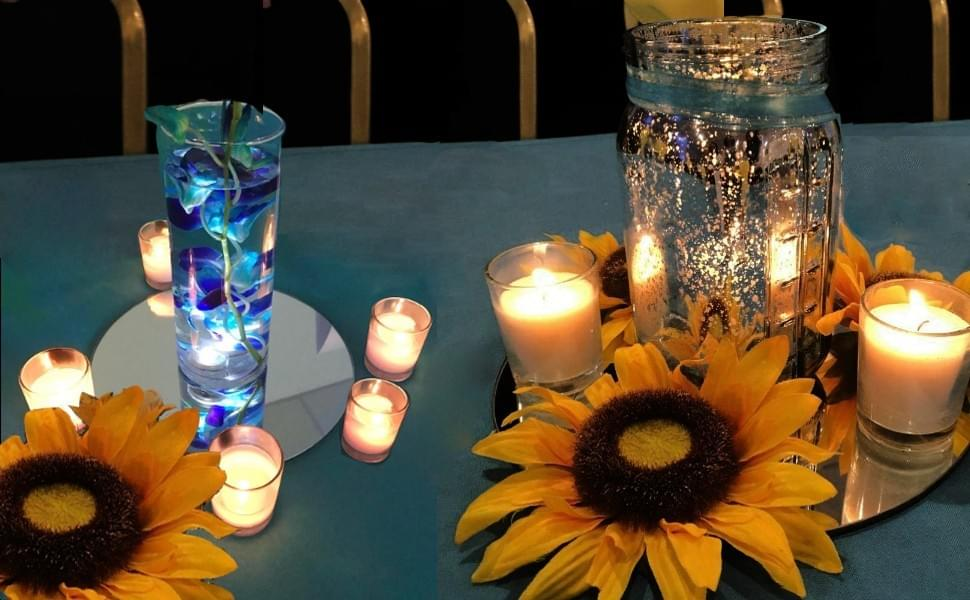 LED candle for weddings