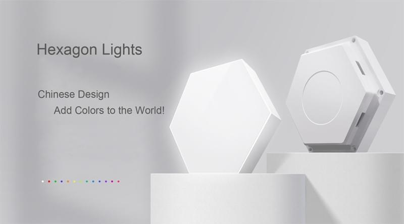 All hexagon lights produced by hexagonalight