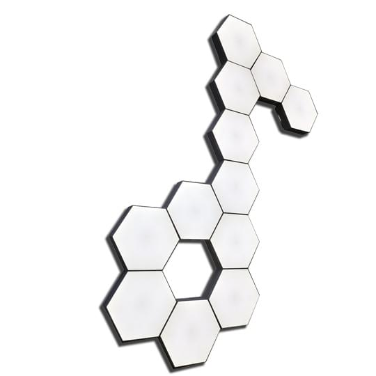 hexagon touch party lights