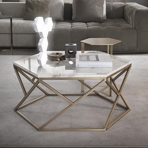app hexagon table lamp