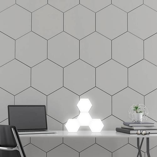 hexagon table lamp
