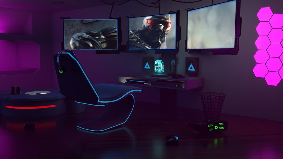 Hexagon Lights For Gaming Room