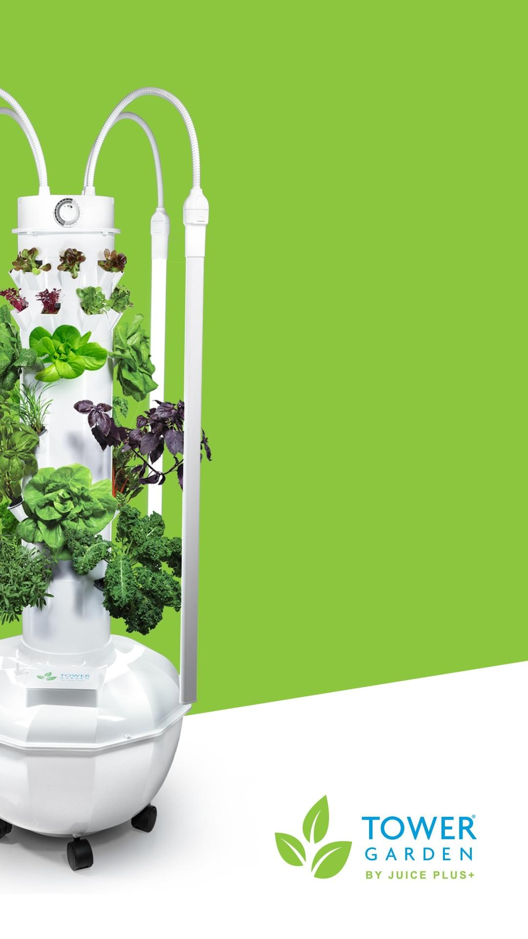Tower Garden Juice Plus Insights