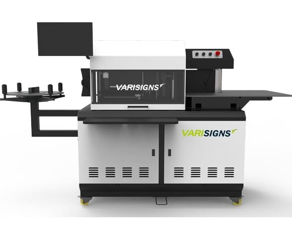 varisigns channel letter bending machine VAM-S6 Plus