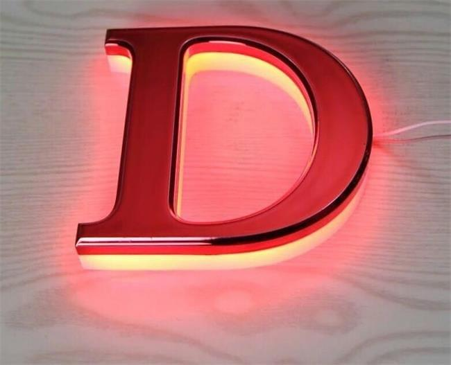 steel 3d sign letter by varisigns automatic letter bender machine
