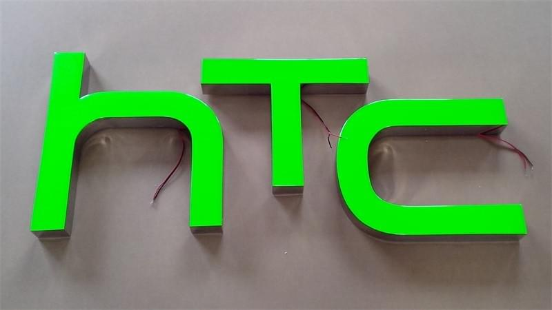 Varisigns Epoxy Resin Letters with the green color